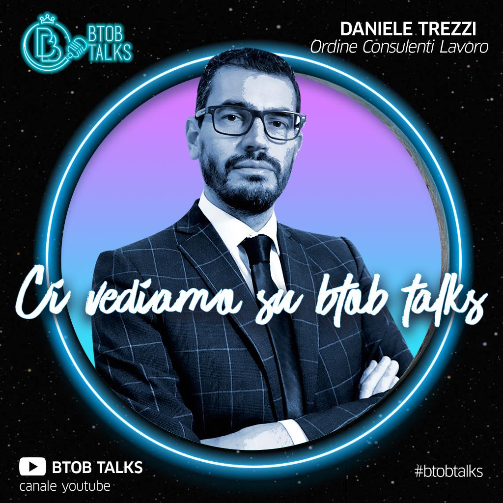 BTOB TALKS: DANIELE TREZZI